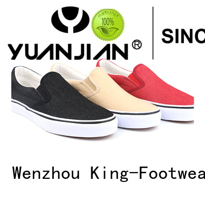 beautiful wholesale canvas shoes factory price for daily life