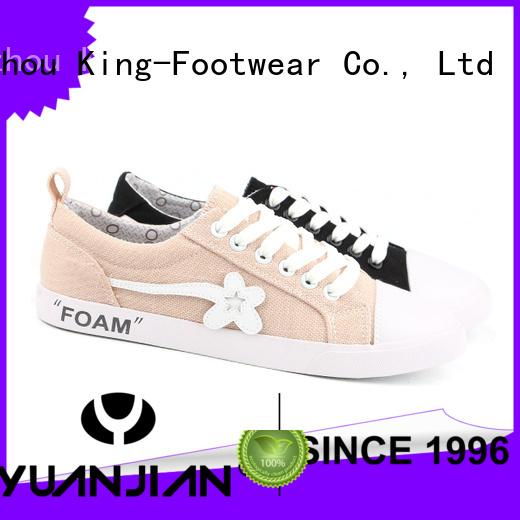 durable canvas sneaker supplier for women