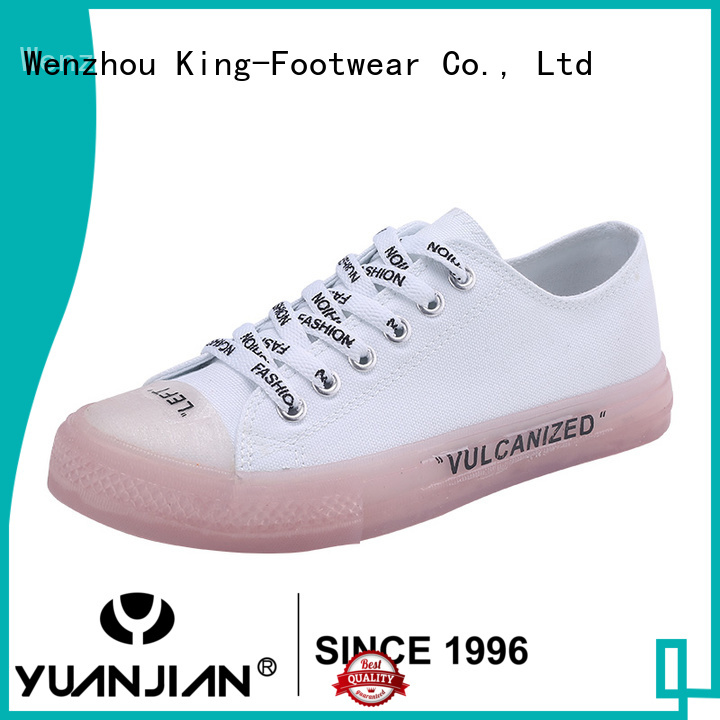 King-Footwear hot sell casual slip on shoes design for traveling