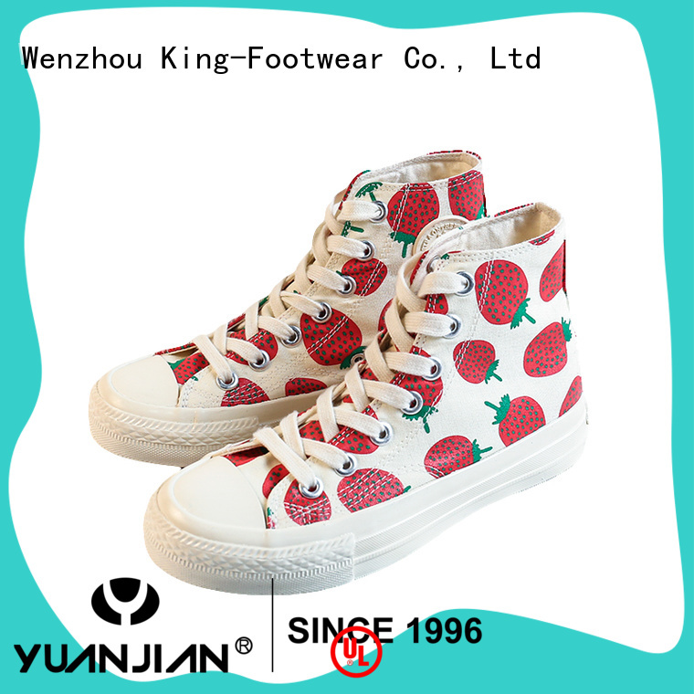 King-Footwear custom canvas shoes manufacturer for working