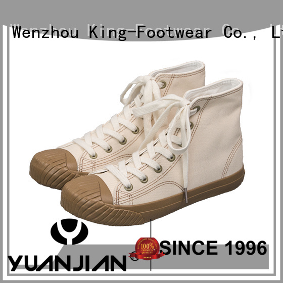 King-Footwear plain canvas shoes promotion for travel