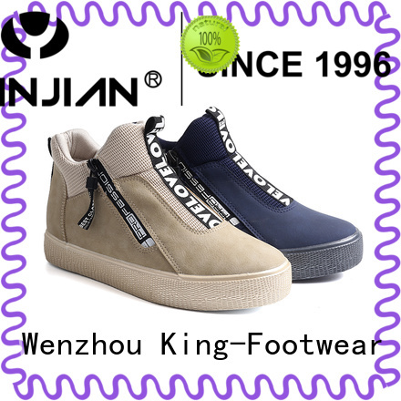 King-Footwear pu leather shoes design for traveling