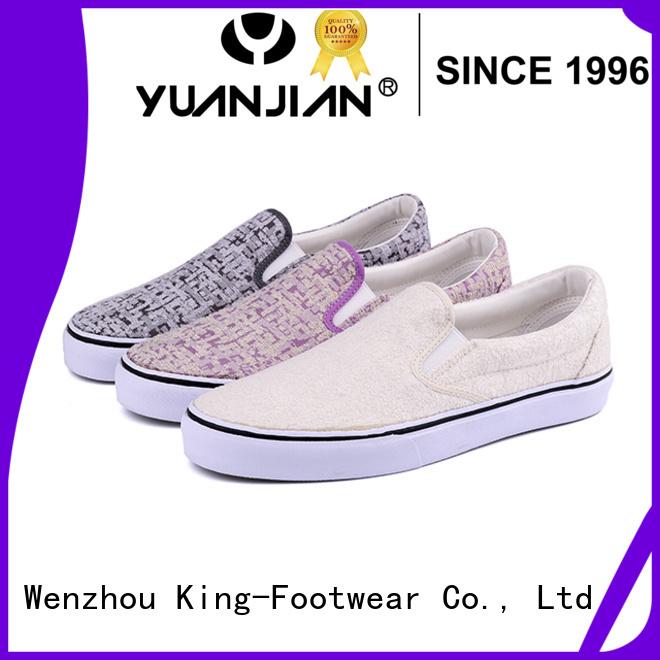 popular vulcanized rubber shoes design for schooling