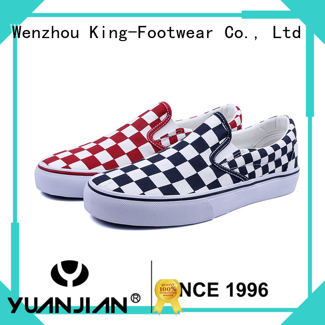 King-Footwear mens canvas sneakers wholesale for daily life