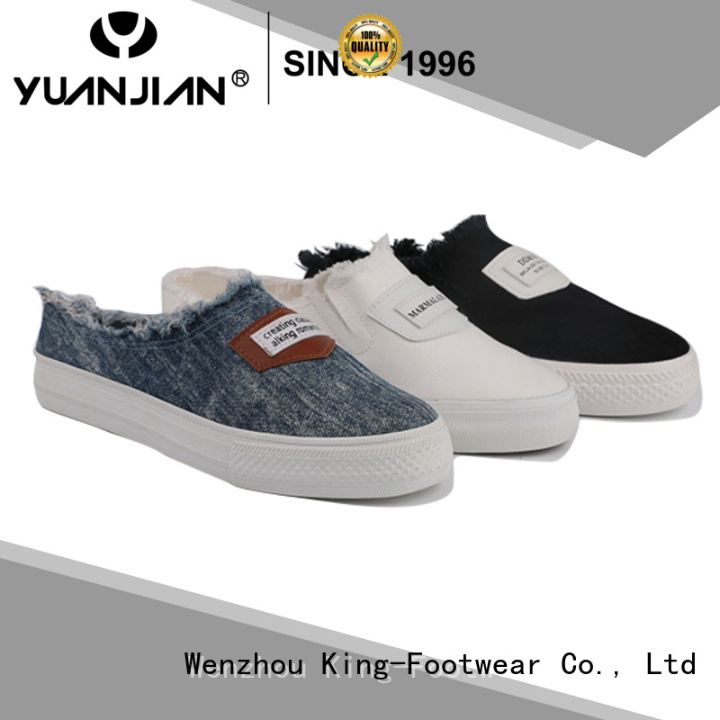 beautiful mens canvas sneakers factory price for school