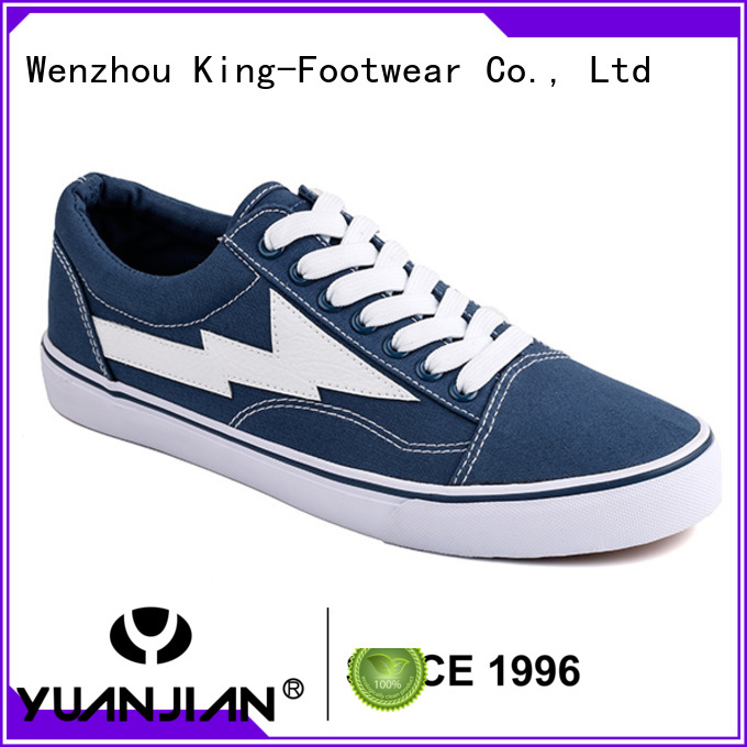 King-Footwear breathable fabric sneaker supplier for children