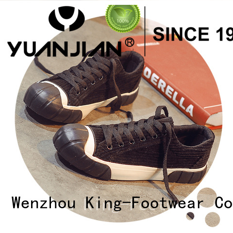 King-Footwear vulcanized shoes factory price for occasional wearing