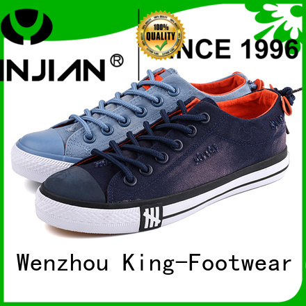 hot sell canvas shoes for girls factory price for school