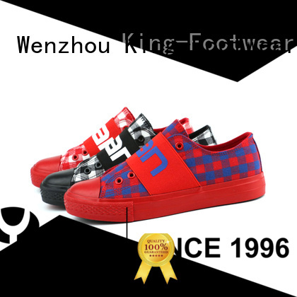 King-Footwear canvas sports shoes factory price for working