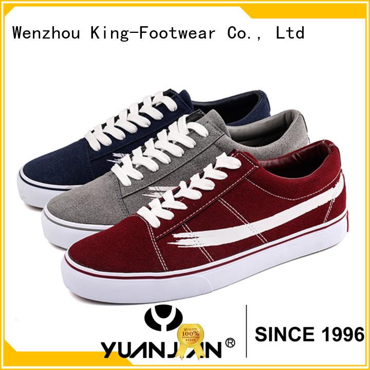 King-Footwear comfortable black canvas sneakers wholesale for men