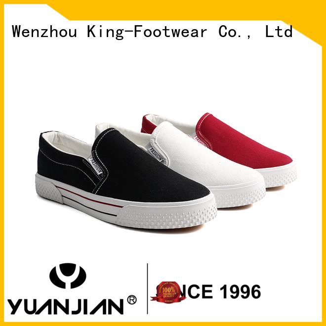 hot sell womens canvas trainers promotion for daily life