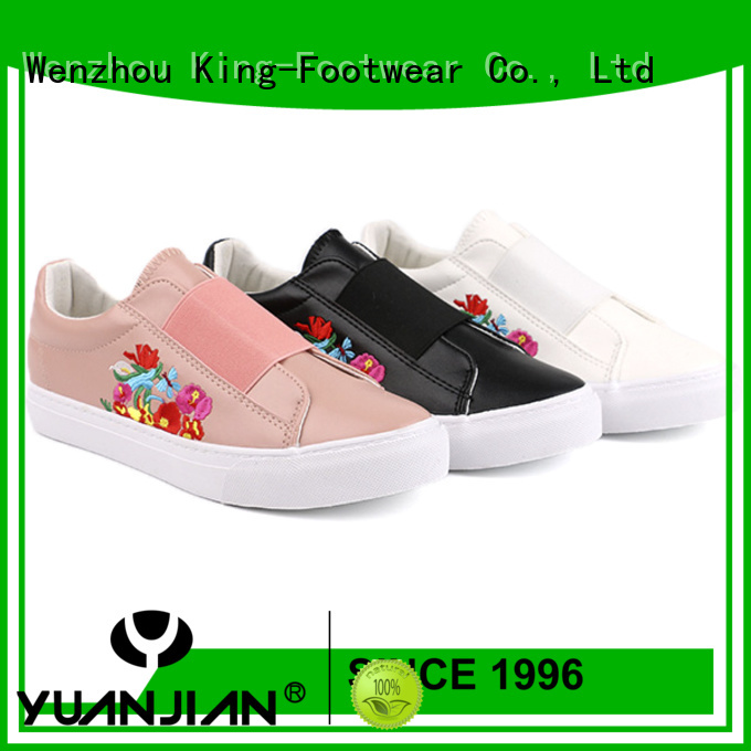 King-Footwear casual wear shoes for men supplier for schooling