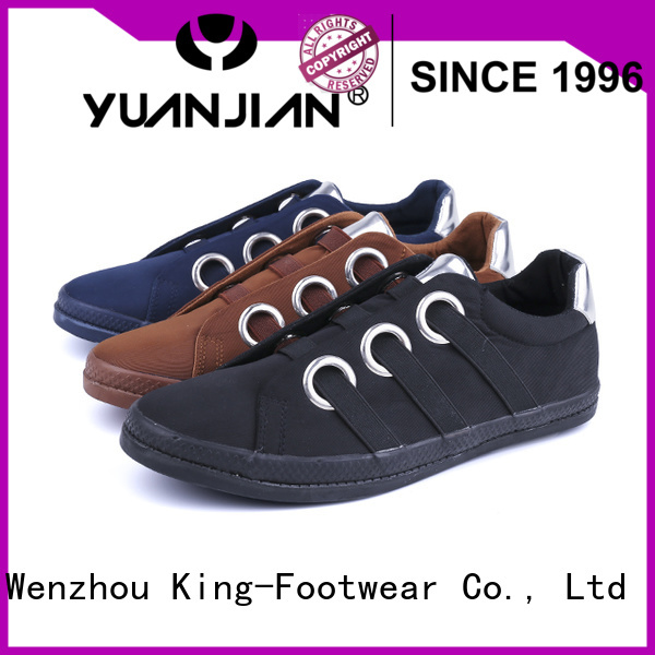 King-Footwear hot sell types of skate shoes supplier for occasional wearing