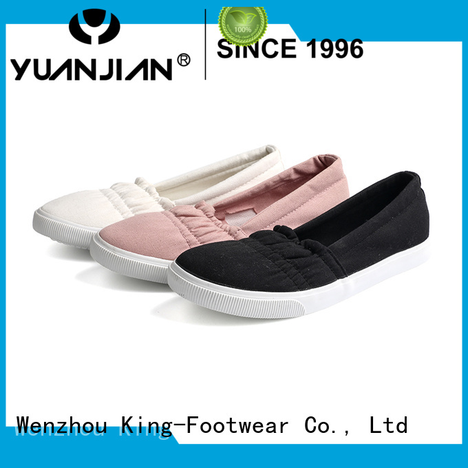 King-Footwear plain canvas shoes promotion for working