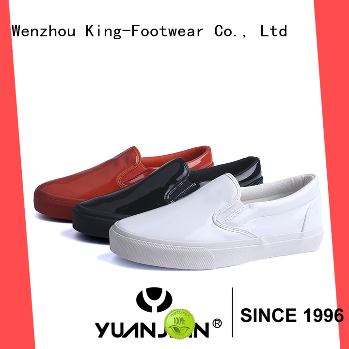 King-Footwear hot sell types of skate shoes factory price for schooling