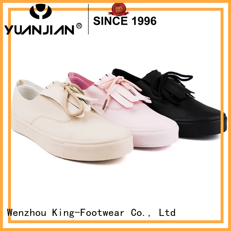 King-Footwear hot sell top casual shoes supplier for schooling