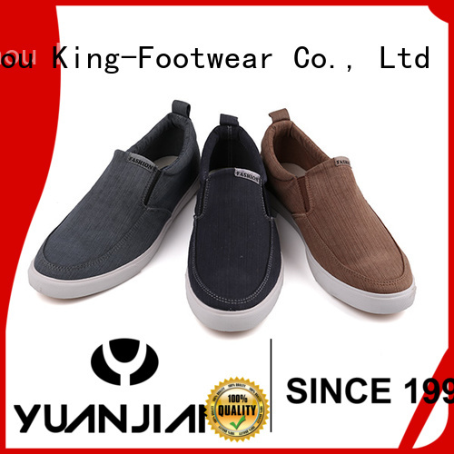 King-Footwear canvas slip on shoes womens wholesale for travel