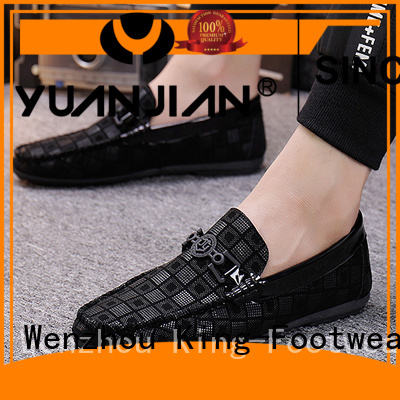 King-Footwear durable canvas boat shoes factory price for working