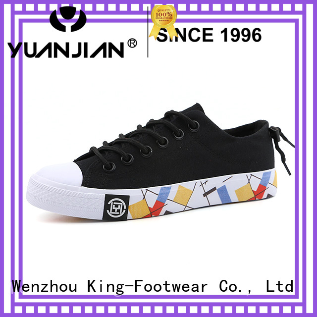King-Footwear good quality comfortable canvas shoes wholesale for daily life