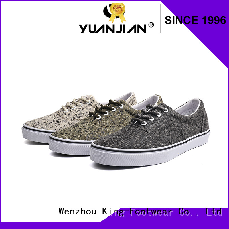 good quality custom canvas shoes promotion for daily life