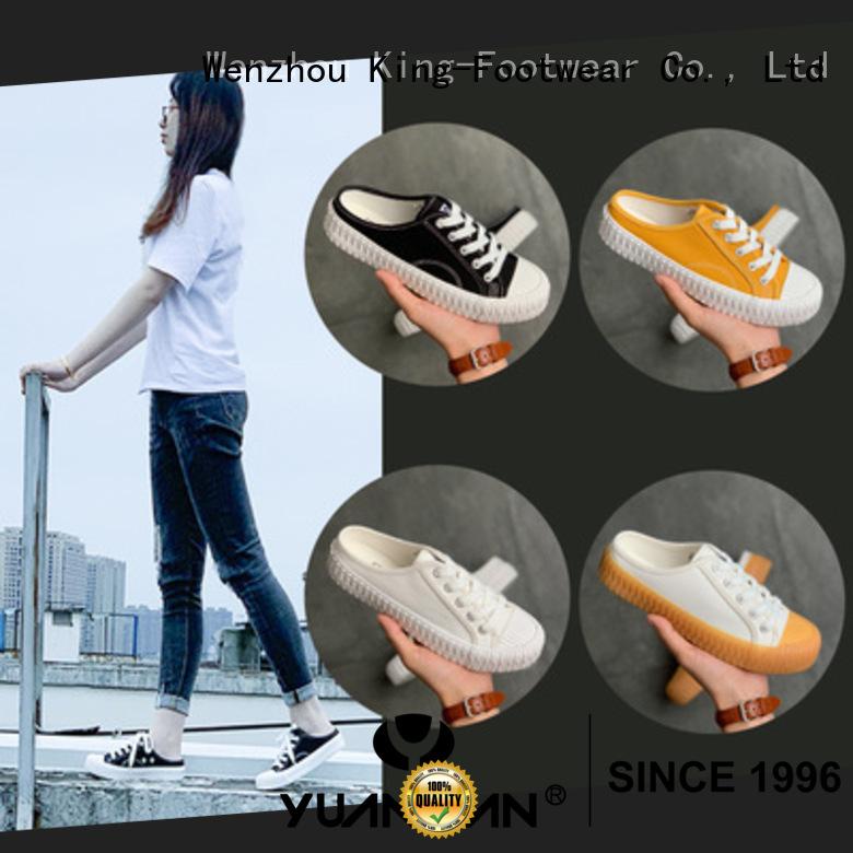 durable cheap canvas shoes promotion for school