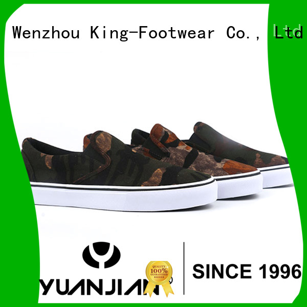 durable custom canvas shoes factory price for working