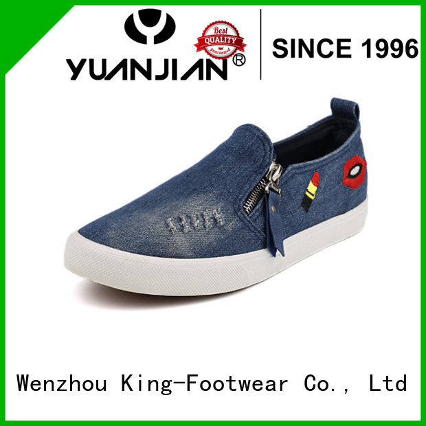 King-Footwear canvas sports shoes promotion for daily life