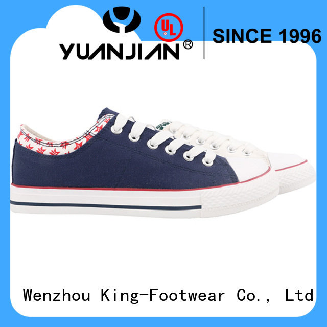 King-Footwear durable cheap canvas shoes promotion for daily life