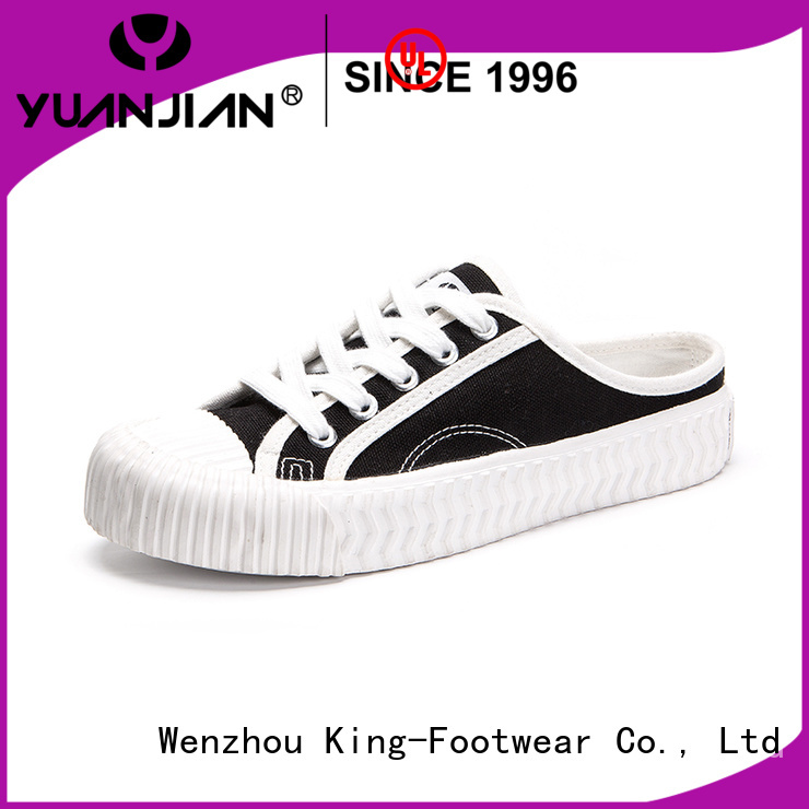 King-Footwear canvas shoes online factory price for travel