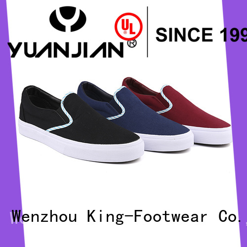 King-Footwear beautiful womens canvas trainers wholesale for travel