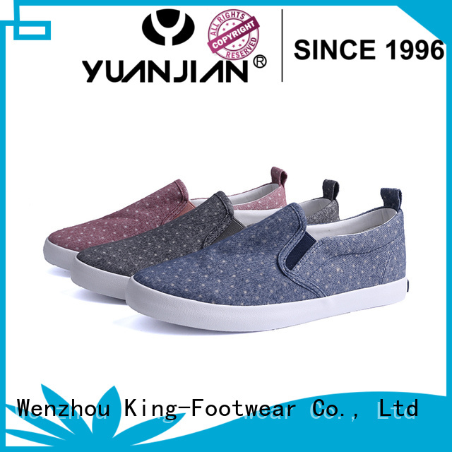 hot sell denim canvas shoes wholesale for working