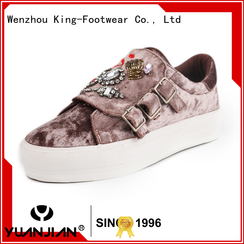 King-Footwear pu leather shoes factory price for traveling