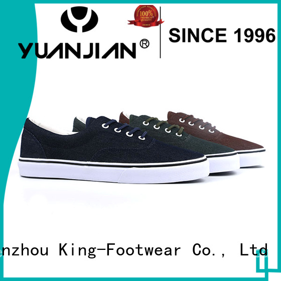 King-Footwear durable canvas sneakers shoes directly sale for children