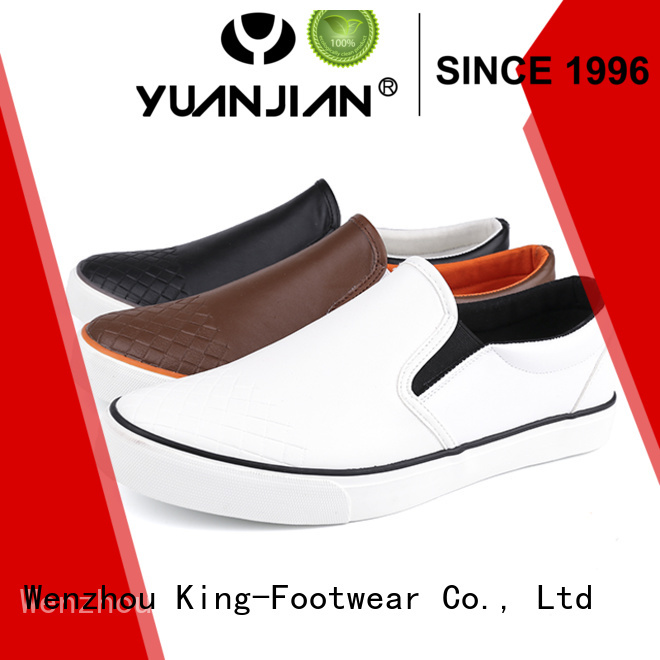 King-Footwear casual skate shoes design for traveling