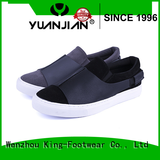 King-Footwear hot sell vulcanized canvas for occasional wearing