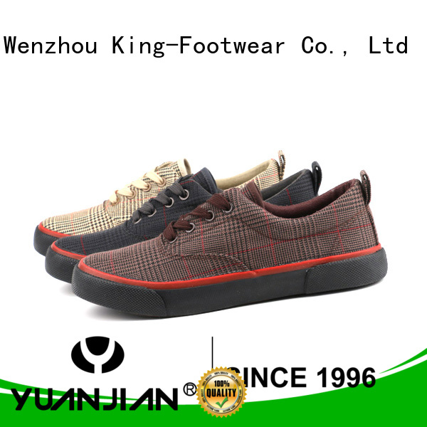 King-Footwear good quality formal canvas shoes for travel