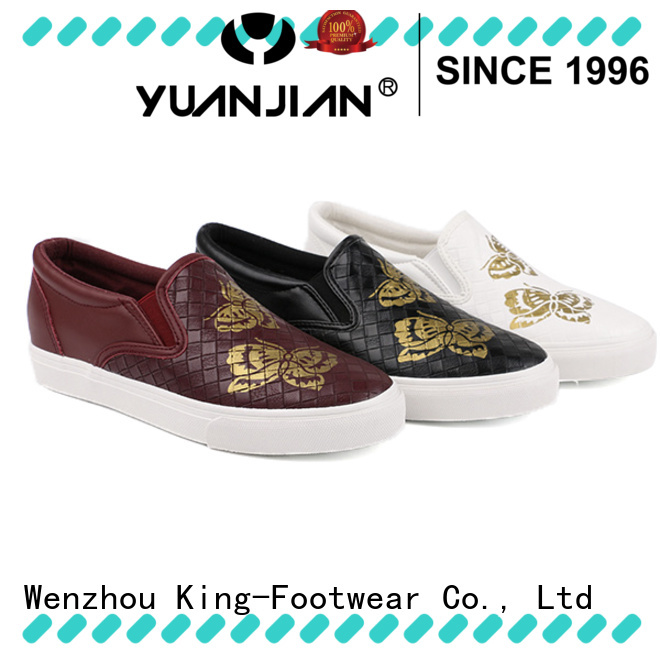 King-Footwear pu footwear factory price for schooling