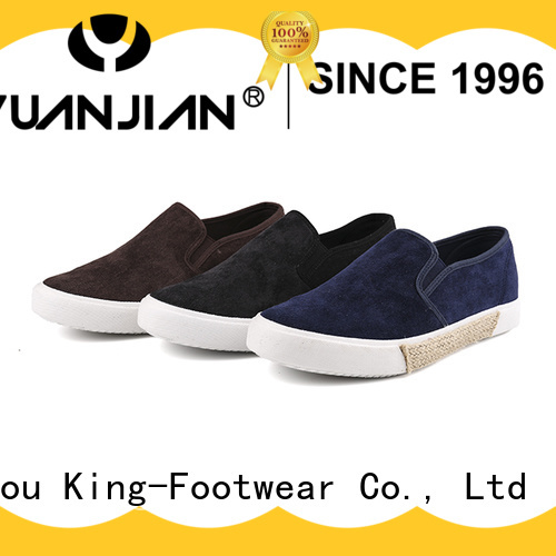 King-Footwear hot sell vulcanization definition design for traveling