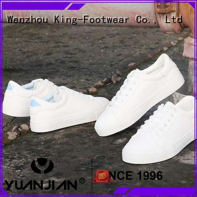 King-Footwear mens canvas slip on sneakers supplier for children