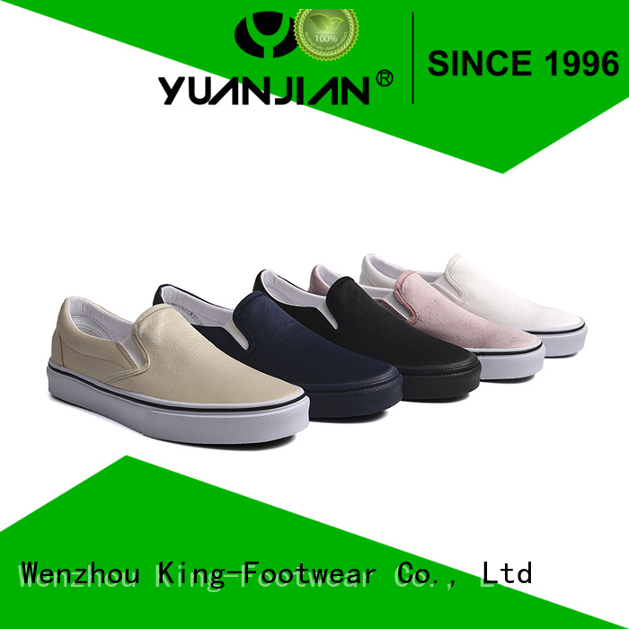 King-Footwear slip on skate shoes supplier for sports