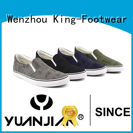 King-Footwear casual slip on shoes supplier for sports