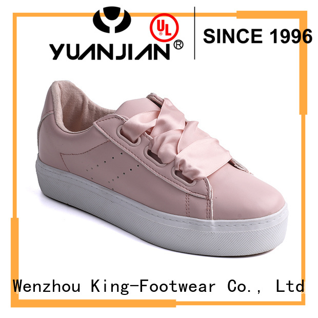 King-Footwear slip on skate shoes supplier for occasional wearing