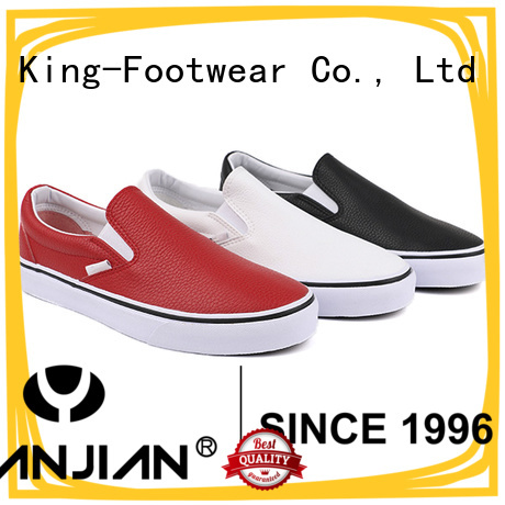King-Footwear modern vulcanized shoes factory price for occasional wearing