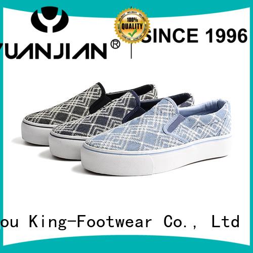 King-Footwear vulcanized shoes design for schooling