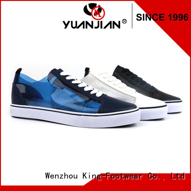 King-Footwear modern slip on skate shoes factory price for traveling
