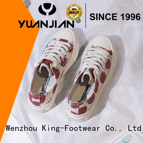 King-Footwear wholesale canvas shoes manufacturer for travel