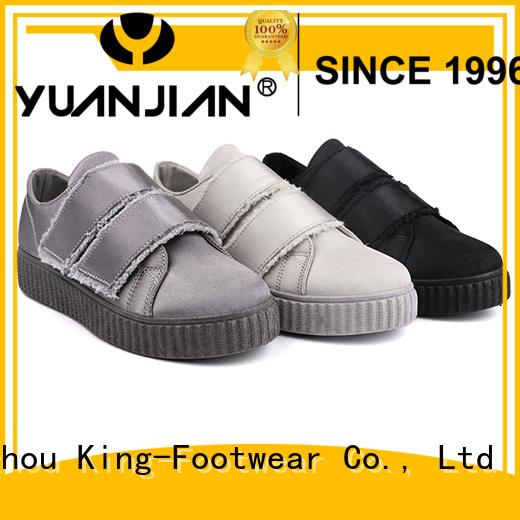 King-Footwear healthy canvas sneaker directly sale for children