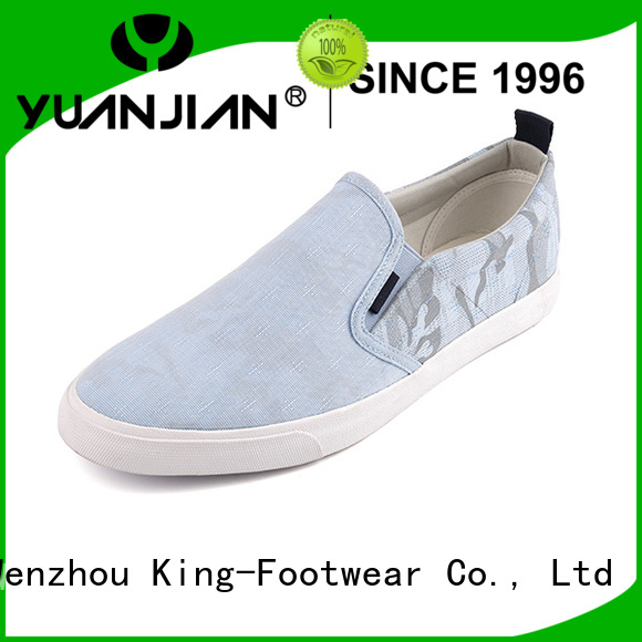 King-Footwear canvas lace up shoes for womens promotion for travel