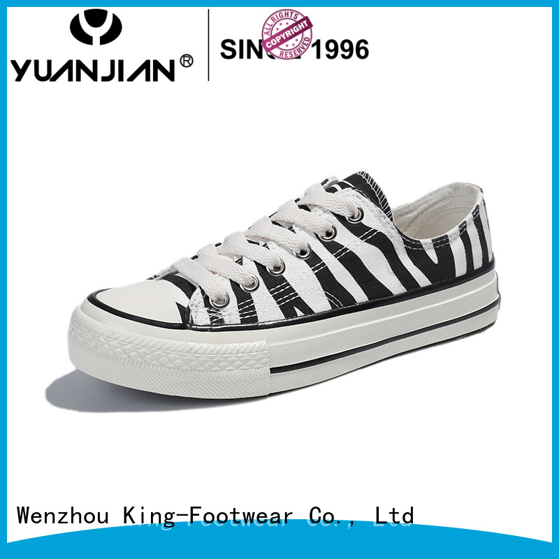 King-Footwear durable formal canvas shoes manufacturer for daily life