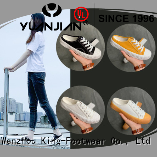 good quality canvas sneakers womens factory price for travel